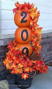 Fall Pumpkin Decorations - 21 diy fall door decorations diy ready