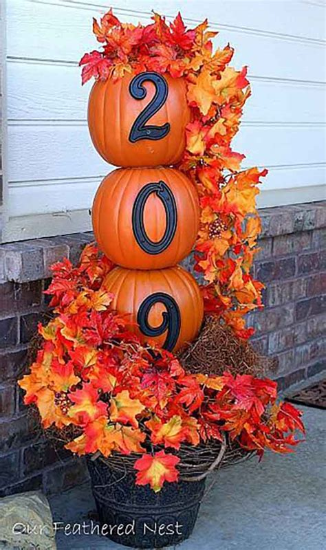 make fall decorations 21 diy fall door decorations diy ready