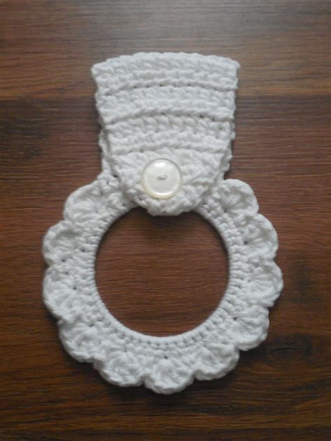 pattern crochet dish towel holder dish towel holder kitchentowel topper spring summer home