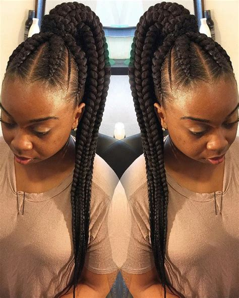 i want to see hairstyles on ghana braids 25 fabulous ways to style your ghana braids this summer