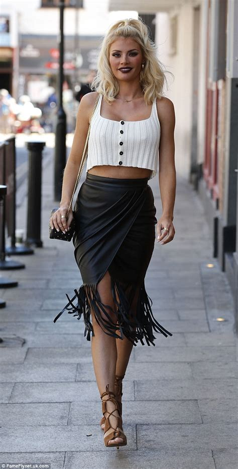 Wrap Around House Plans towie s chloe sims turns heads in white crop top and