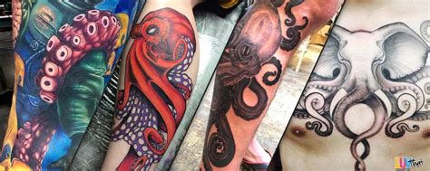 red octopus tattoos 24 amazing octopus tattoos luvthat
