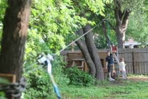 How To Make A Zip Line For Your Backyard Backyard Zip Line For Kids 171 The Trailhead