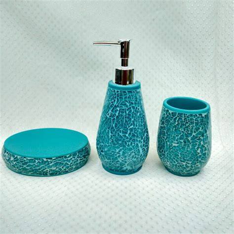 match your mosaic bathroom accessories with mosaic