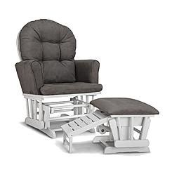 graco parker semi upholstered glider and nursing nursery rocking chairs nursery gliders sears