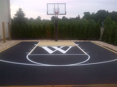 backyard basketball court ideas backyard basketball court ideas to help your family become