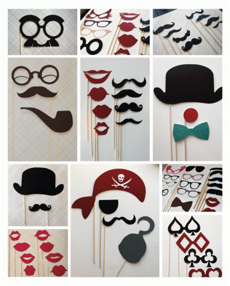 Handmade Photo Booth Props - getting your diy on photo booth new zealand s