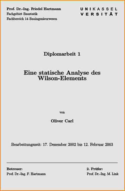 Word Vorlage Projektarbeit Deckblatt Projektarbeit Muster Reimbursement Format