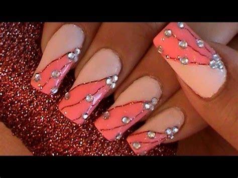 imagenes de uñas decoradas u 241 as decoradas con hilo para coser youtube