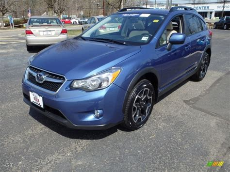 blue subaru crosstrek 2014 quartz blue pearl subaru crosstrek 2 0i limited