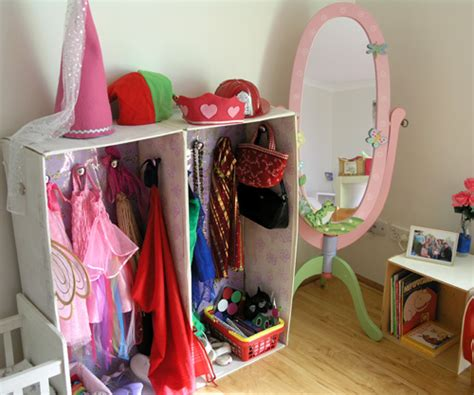 Toddler Dress Up Wardrobe by Dramatic Play In Our Home Corner Play Space Childhood101