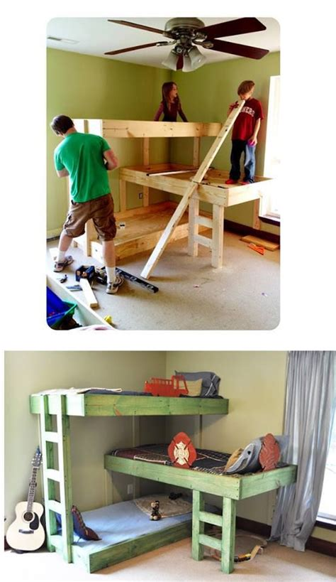 Three Level Bunk Bed 150 Best Bedroom Images On Child Room
