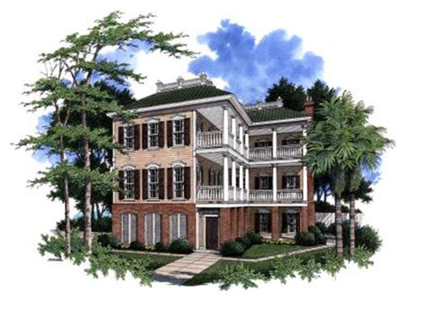 Plantation House Plans With Wrap Around Porch Whittes Creek Southern Home Plan 024s 0015 House Plans And More