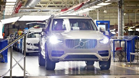 volvo  build  plant  south carolina autoblog