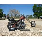 Antique Collectable Harley Davidson Chopper 1970 Build &amp Paint