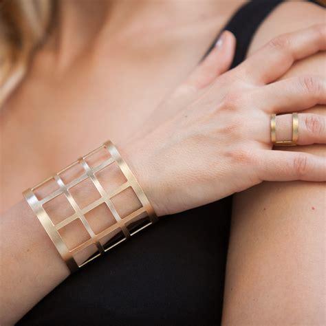 Handmade Cuff Bracelet - hammered handmade cuff bracelet wirst bangle