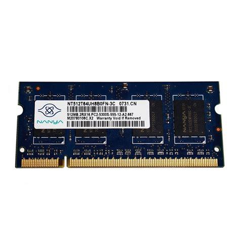 Sodim Ddr2 512 Mb barrette m 233 moire occasion pc portable nanya so dimm