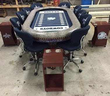 dallas cowboys folding table dallas cowboys custom table with focused led lights