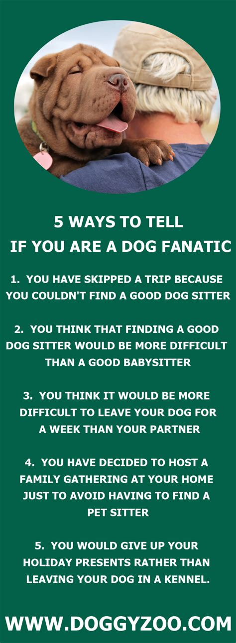 12 Ways To Tell If Its True by 5 Ways To Tell If You Are A Fanatic Doggyzoo