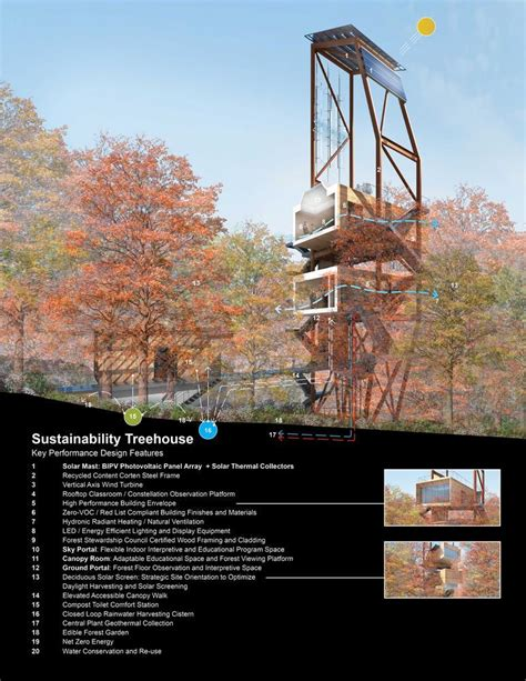 tree houses in virginia aeccafe sustainability treehouse in west virginia by mithun