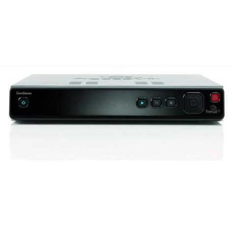 Digital Tv Recorder goodmans gfsdtr320hd 320gb hd freesat digital tv recorder black
