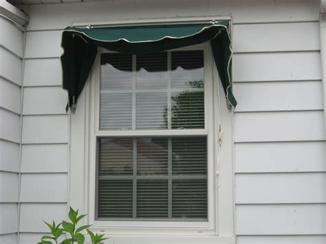 canvas window awnings single window awning with ropes and pulleys kreider s