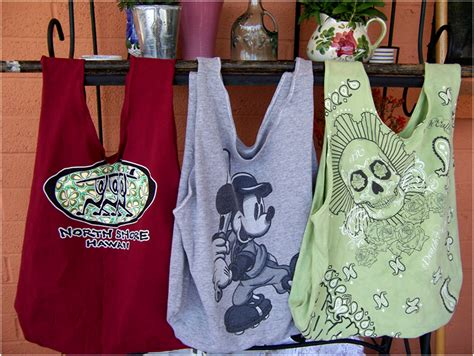 pattern for t shirt tote bag art threads wednesday sewing repurposed t shirt bags