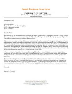 how to make a cover letter for internship sle psychology intern cover letter free