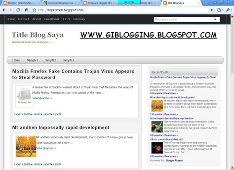 fast loading templates for blogger download template blogger loading cepat fast loading