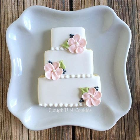 Wedding Cake Cookies by 17 Best Ideas About Decorated Wedding Cookies On