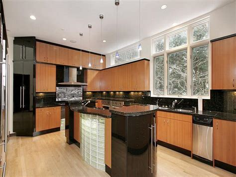black brown kitchen cabinets black and brown kitchen island quicua com