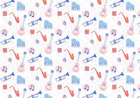 musical instruments pattern   vectors