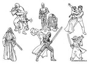Galerry coloring pages to print star wars