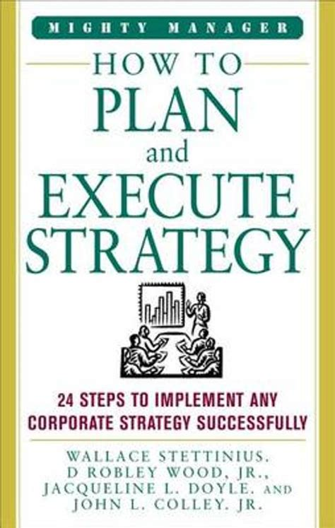 bol how to plan and execute strategy wallace