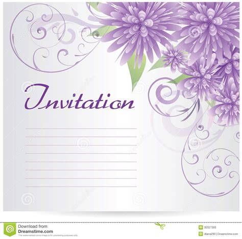 Invitation Blank Template Blank Birthday Invitation Template