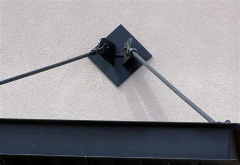 metal awning brackets commercial awning