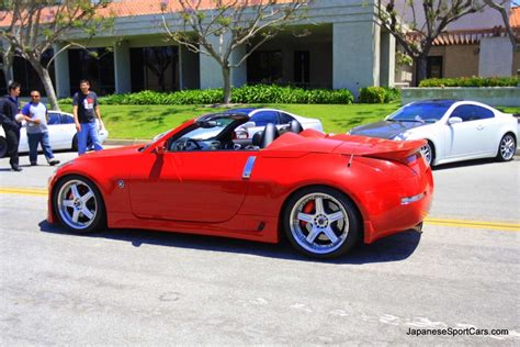 custom nissan  convertible  volk racing gt
