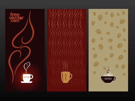 banner cafe design vector coffee cups designs vector art graphics freevector com