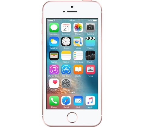 apple iphone se 32 gb gold deals pc world