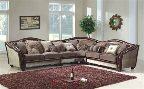 Antique Sectional Sofa Chateau Formal Antique Style Traditional Living Room Furniture Sectional Sofa