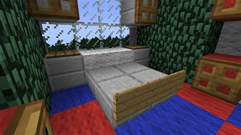 Minecraft Bathroom Designs by Minecraft Furniture Bedroom A Minecraft Slab Bed Design