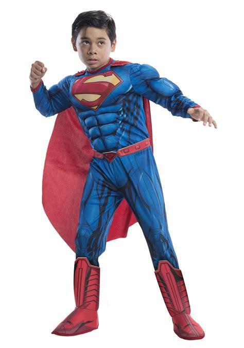 superman costume dc comics deluxe child superman costume