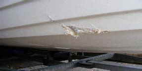 krassen polyester boot boot repareren en schade herstel