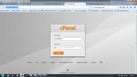 membuat email  cpanel hosting  jasa pembuatan