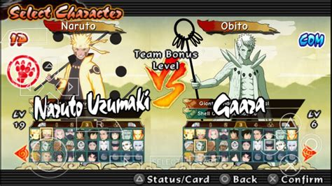 mod game naruto psp เเจก mod pack naruto storm revolution ppsspp youtube