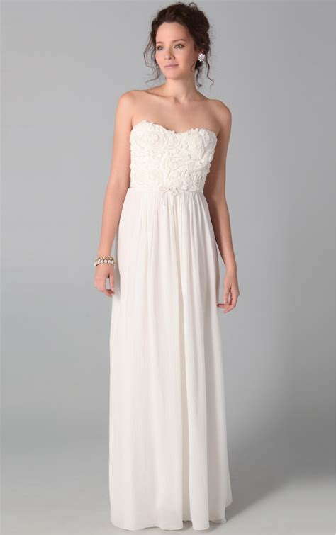 Strapless Dresses by Strapless White Maxi Dress White Strapless Dresses Dresscab