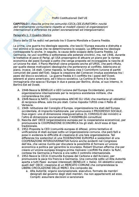 dispensa diritto pubblico riassunti per l esame di diritto pubblico europeo