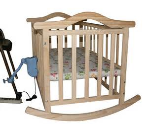 Rocking Baby Cribs No Radiation Electric Rocking Baby Bed Baby Cradle Baby Swing Pine Cribs No Paint Safety Child