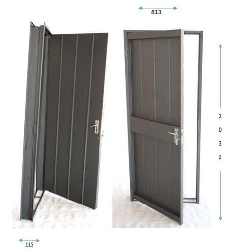 steel combination door frame  door