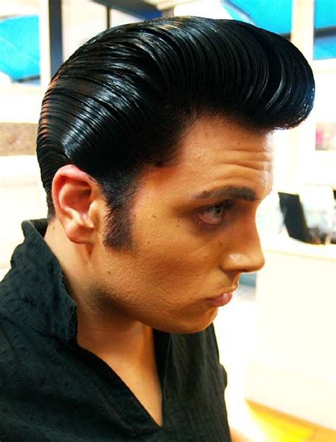 Ducktail Hairstyle by Slickville Mr Ducktail Slick Classic Hairstyles
